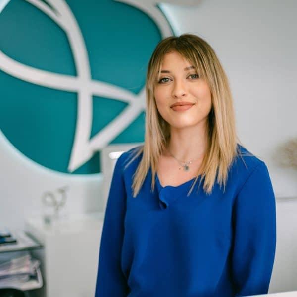 Anna Maria Kesanli head of HR and life coach at Vie Aesthetics
