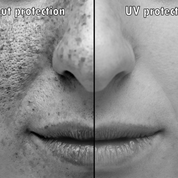 what sun damaged skin looks like in comparison to protected skin