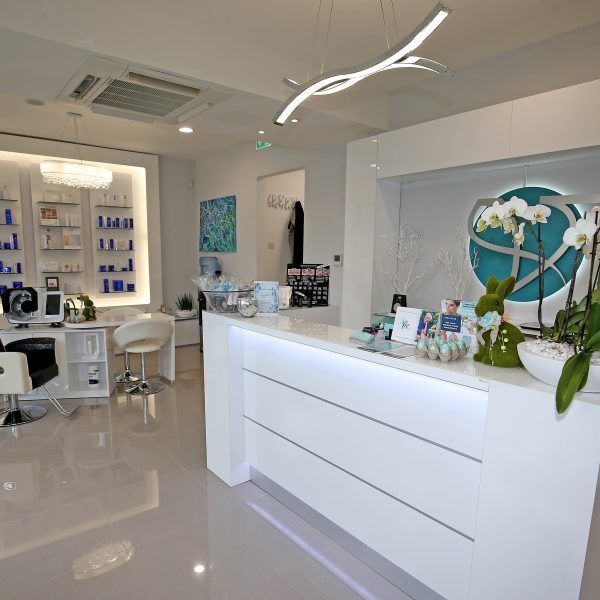 Ground floor reception of the Vie Aesthetics Rayleigh clinic in Essex
