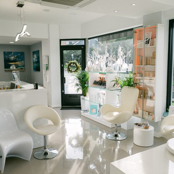 Reception and ground floor at Vie Aesthetics in Rayleigh, Essex