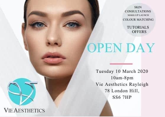 spring open day make-up tutorials at vie aesthetics