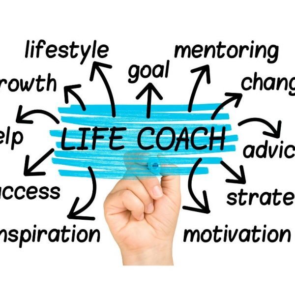 diagram showing benefits of life coaching sessions