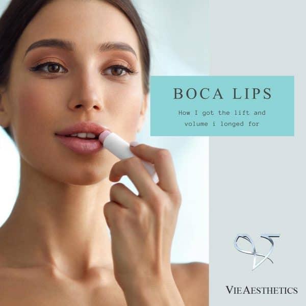 BOCA thread lift for lips treatment promo image