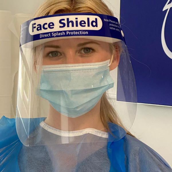 Vie Aesthetics staff wearing PPE