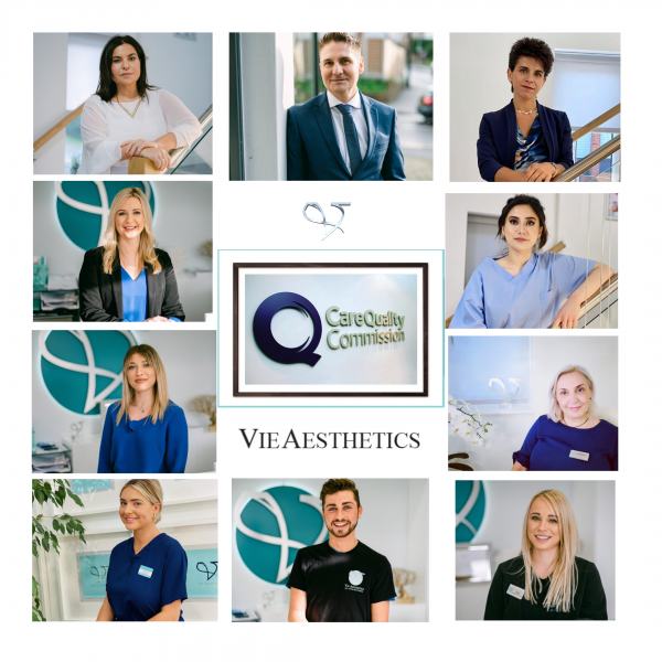 Vie Aesthetics team CQC registered