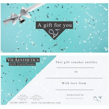 Gift vouchers at Vie Aesthetics
