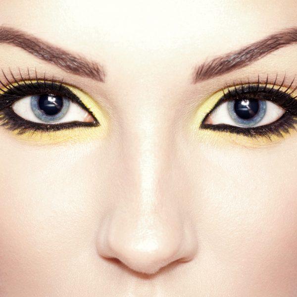 fox eyes make-up