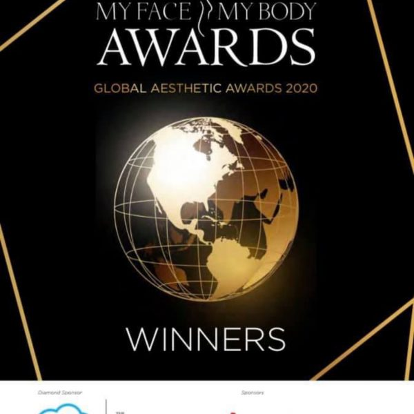 myfacemybody awards 2020 global aesthetic practice of the year Vie Aesthetics