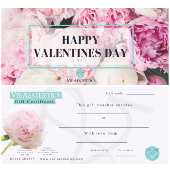 Special Valentine's Day Gift Vouchers at Vie Aesthetics