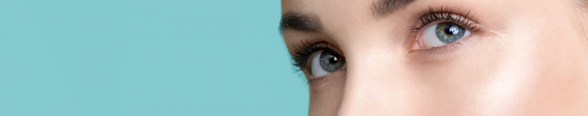 banner image for eyes and skin treatments