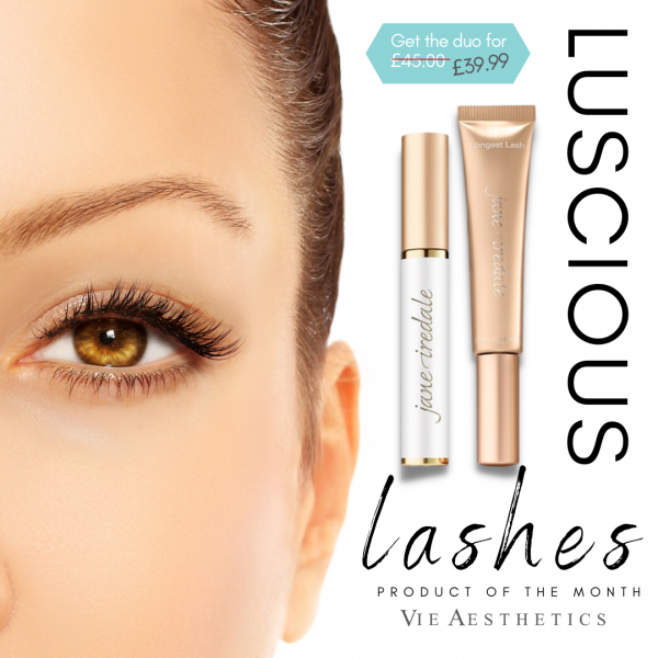Product of the month at vie aesthetics mascara duo by Jane iredale