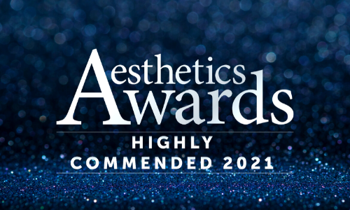 Vie Aesthetics Highly Commended twice at The Aesthetics Awards 2021!