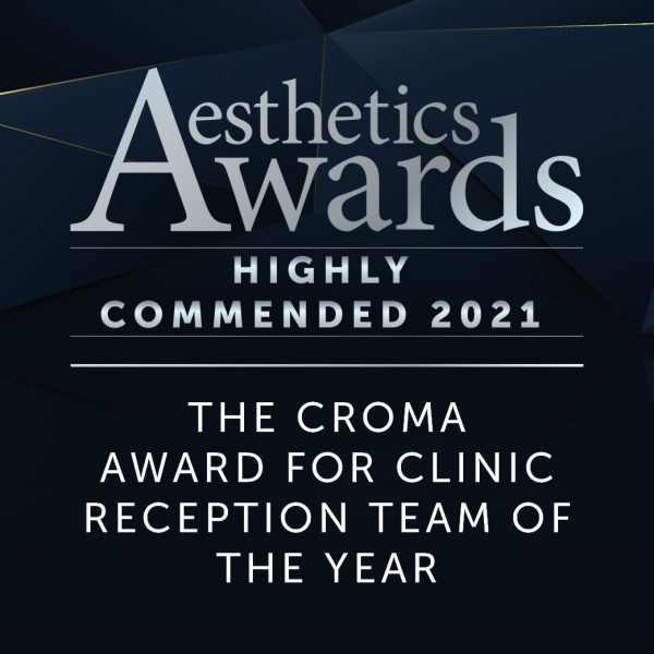 Vie Aesthetics Reception Team of The Year Aesthetic Awards 2021