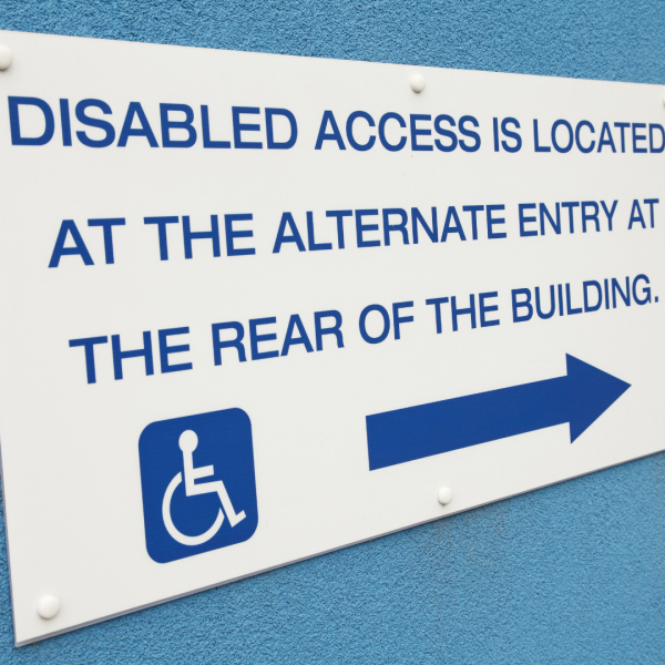 Accessibility for our Clients